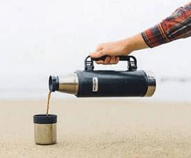 Как дольше сохранить температуру напитка в термосе Stanley